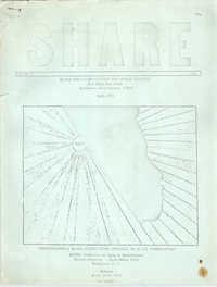 SHARE, Volume I, Number 8, April 1973