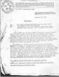 All African People's Revolutionary Party Memorandum, January 16, 1977