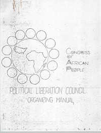 Political Liberation Council Organizing Manual