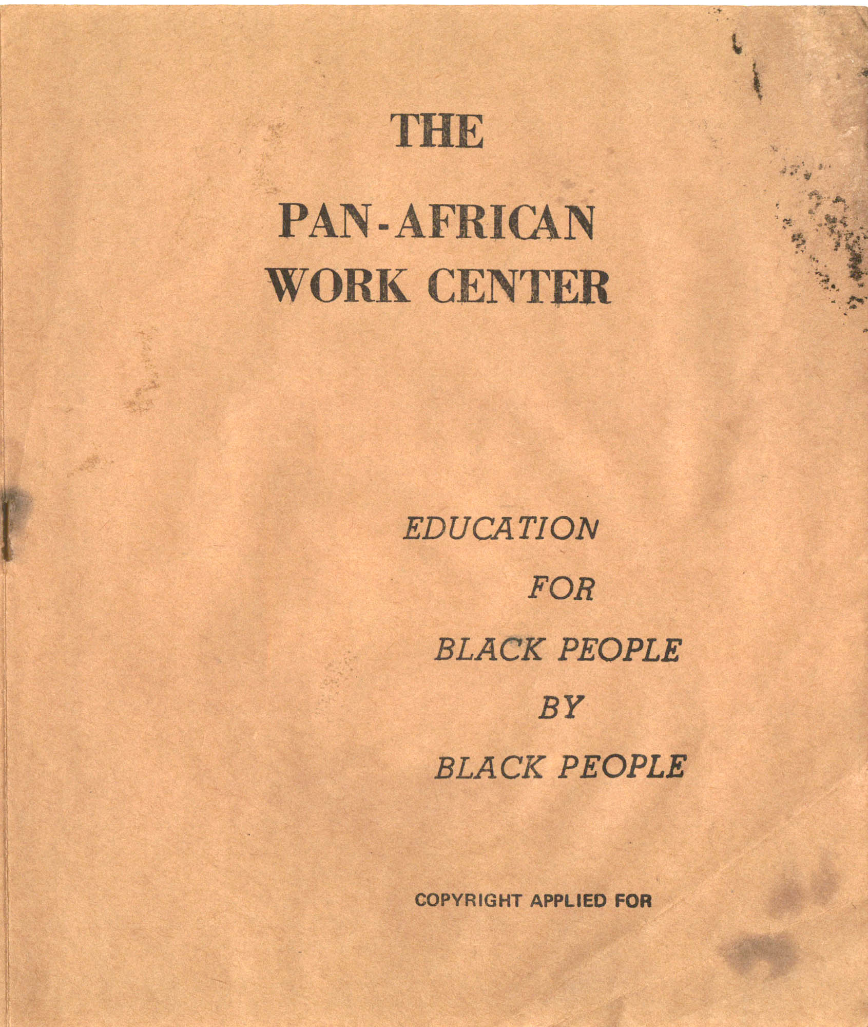 The Pan-African Work Center