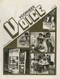 Voorhees Voice, Volume 2, Number 1, April 1985