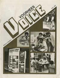 Voorhees Voice, Volume 2, Number 1, April 1985