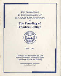 91st Anniversary of The Founding of Voorhees College
