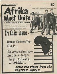 Afrika Must Unite, Vol. 1, No. 4