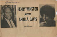 Henry Winston Meets Angela Davis