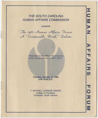 The 1985 Human Affairs Forum, A