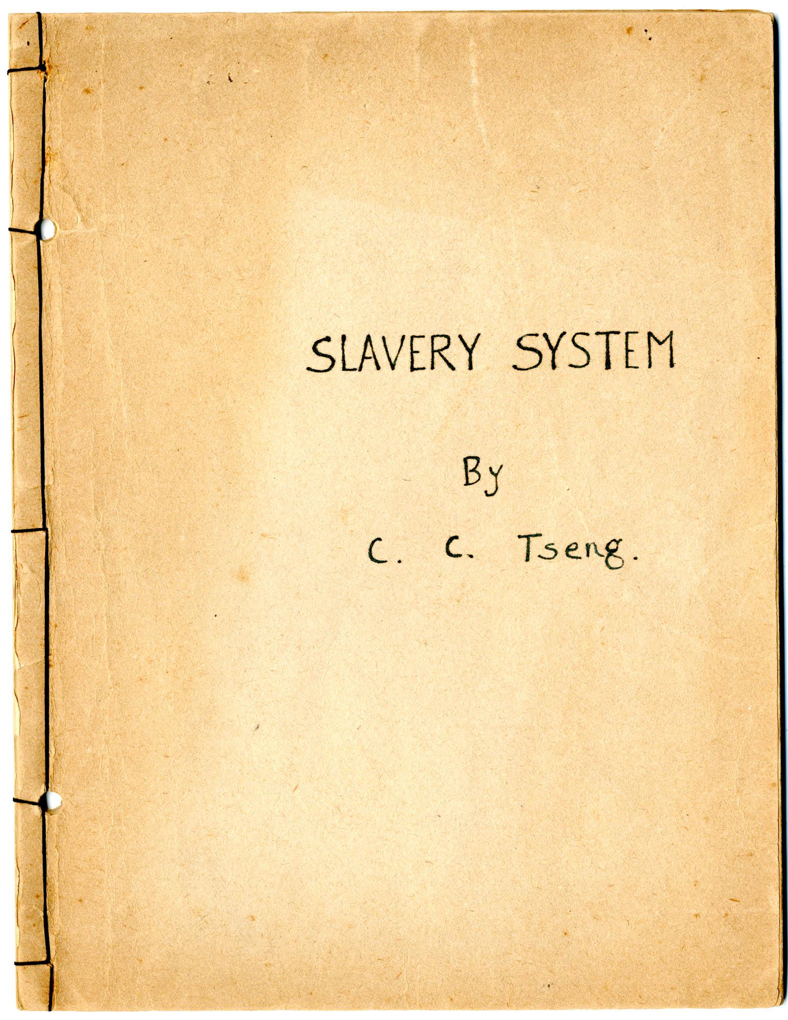 Slavery System