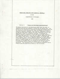 Resolutions Submitted Under Article X, Section 2 of the Constitution of the NAACP