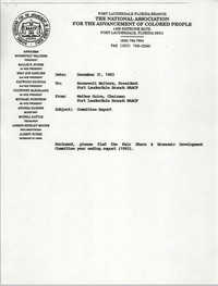 Fort Lauderdale Branch of the NAACP Fair Share and Economic Development Committee Report for 1993