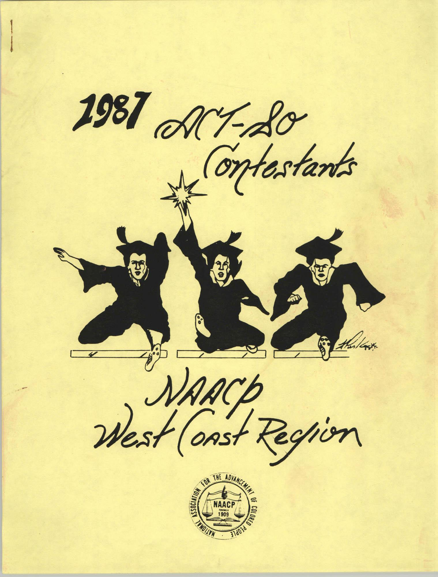 1987 Act-So Contestants, NAACP West Coast Region