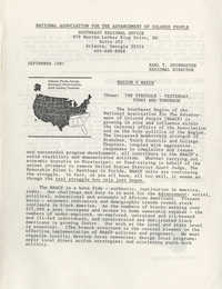 NAACP Southeast Regional Office Newsletter, September 1987