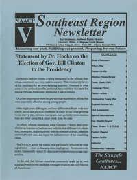 NAACP V, Southeast Region Newsletter