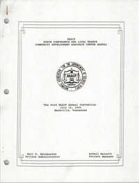 NAACP State Conference and Local Branch Community Development Resource Center Manual, July 15, 1992
