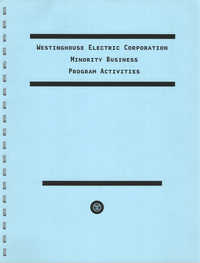 Westinghouse Electric Corporation, Minority Business Program Activities