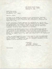 Letter from Dorothy Givens to Dwight James, February 5, 1990