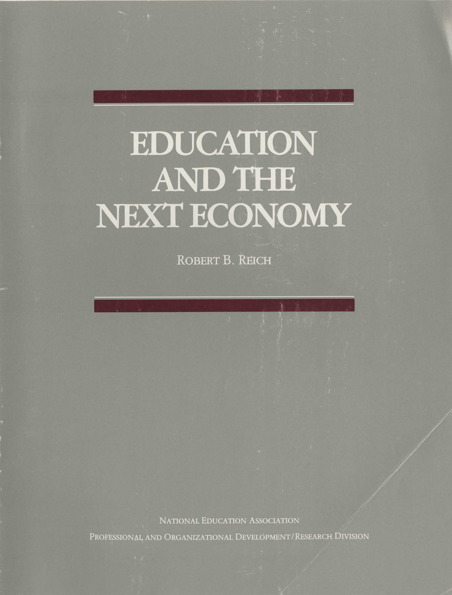 Education and the Next Economy