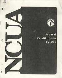 National Credit Union Administration, Federal Credit Union Bylaws, May 1986