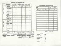 Charleston Branch of the NAACP Funds Transmittal Forms, January 1992, Page 2