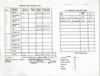 Charleston Branch of the NAACP Funds Transmittal Forms, January 1994, Page 3