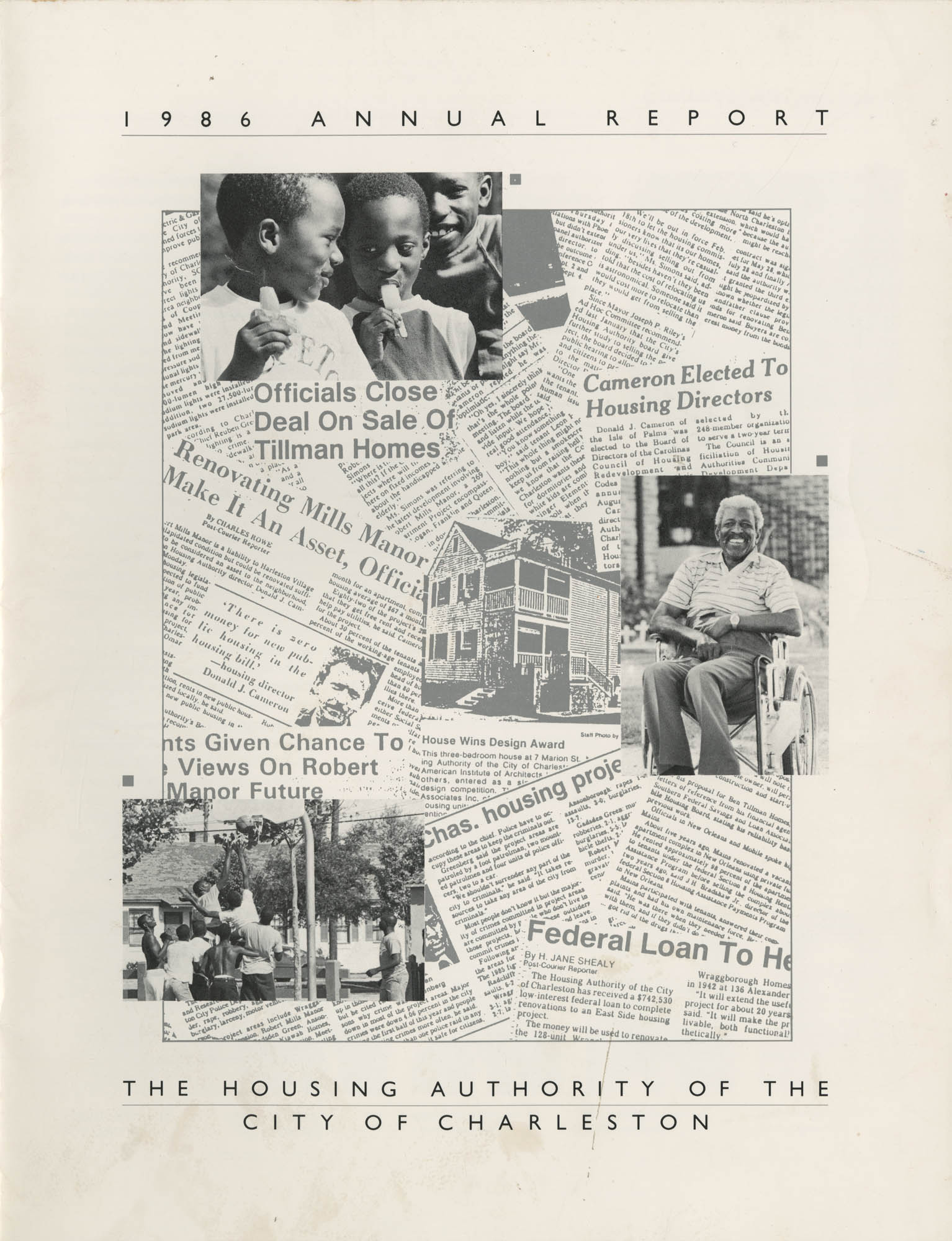 1986 Annual Report, The Housing Authority of the City of Charleston