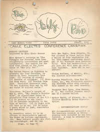 The Lily Pad, Camp Merrie-Woode Newsletter, June 27, 1942