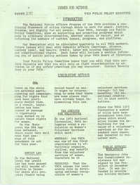 Issues and Actions, Y.W.C.A. of Greater Charleston, Summer 1975