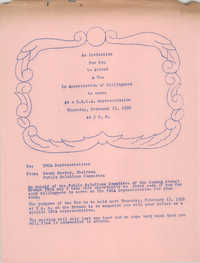 Coming Street Y.W.C.A. Scrapbook, 1953-1957