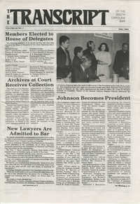 The Transcript of the South Carolina Bar, Vol. 29 No. 7, July 1985