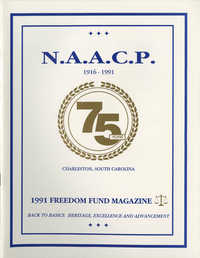 1991 Freedom Fund Magazine, Charleston Branch of the NAACP
