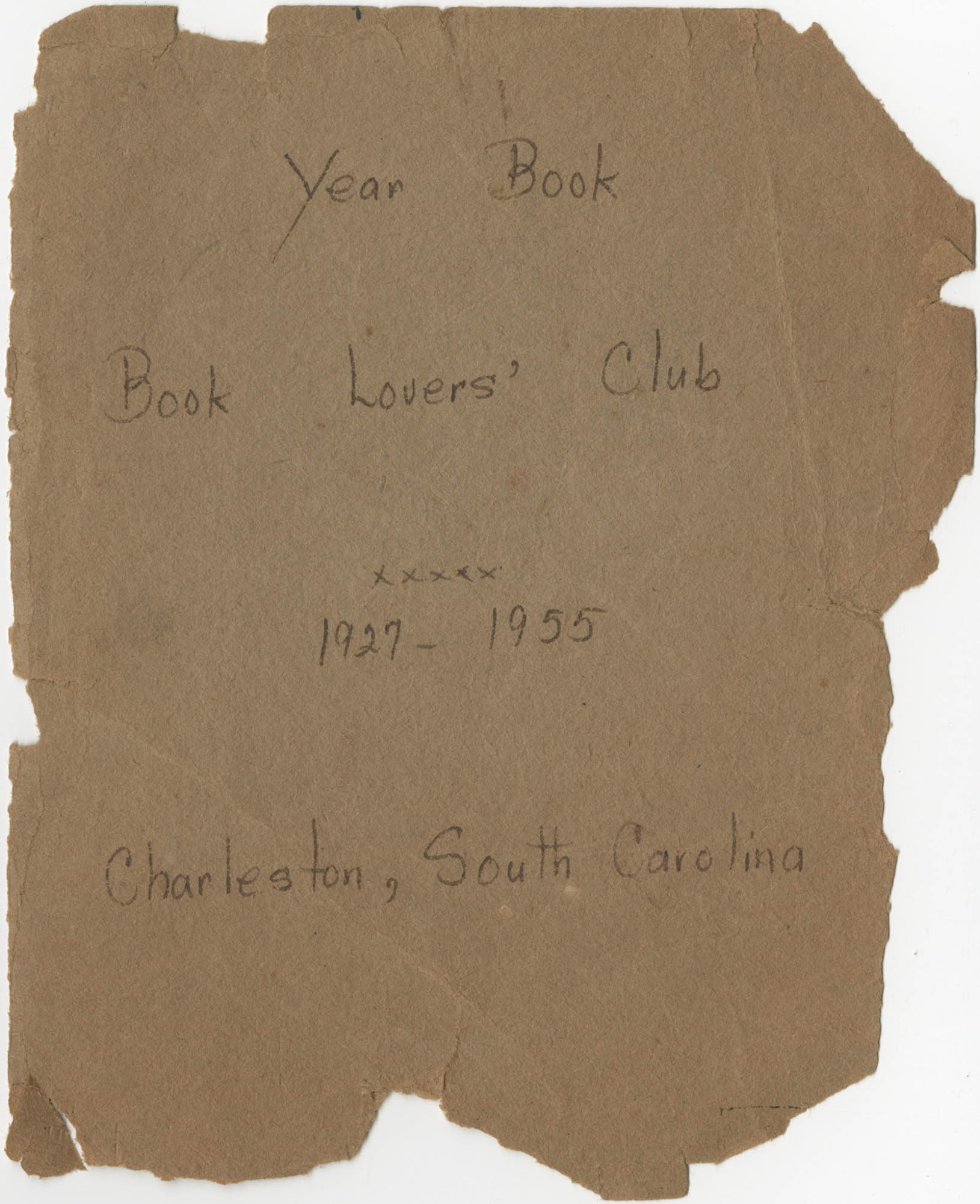 Year Book for the Book Lovers' Club, 1927-1955