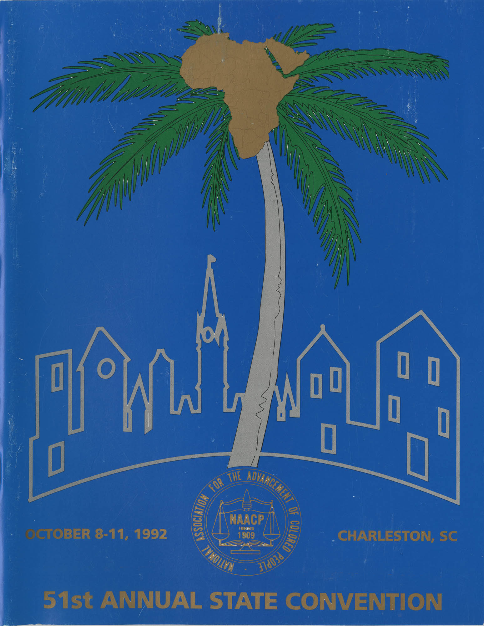 Charleston Branch of the NAACP 51st Annual State Convention Program