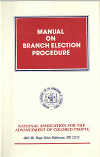 Manual on Branch Election Procedure