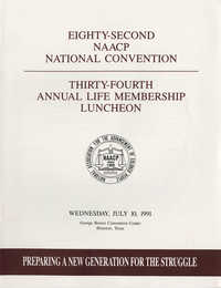 Eighty-Second NAACP National Convention, July 10, 1991