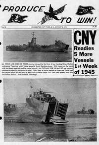 Charleston Naval Shipyard Newsletters, Book 3