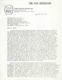 American Cancer Society, South Carolina Division, Inc. Materials, 1979