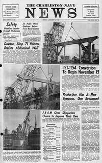 Charleston Naval Shipyard Newsletters, Book 18