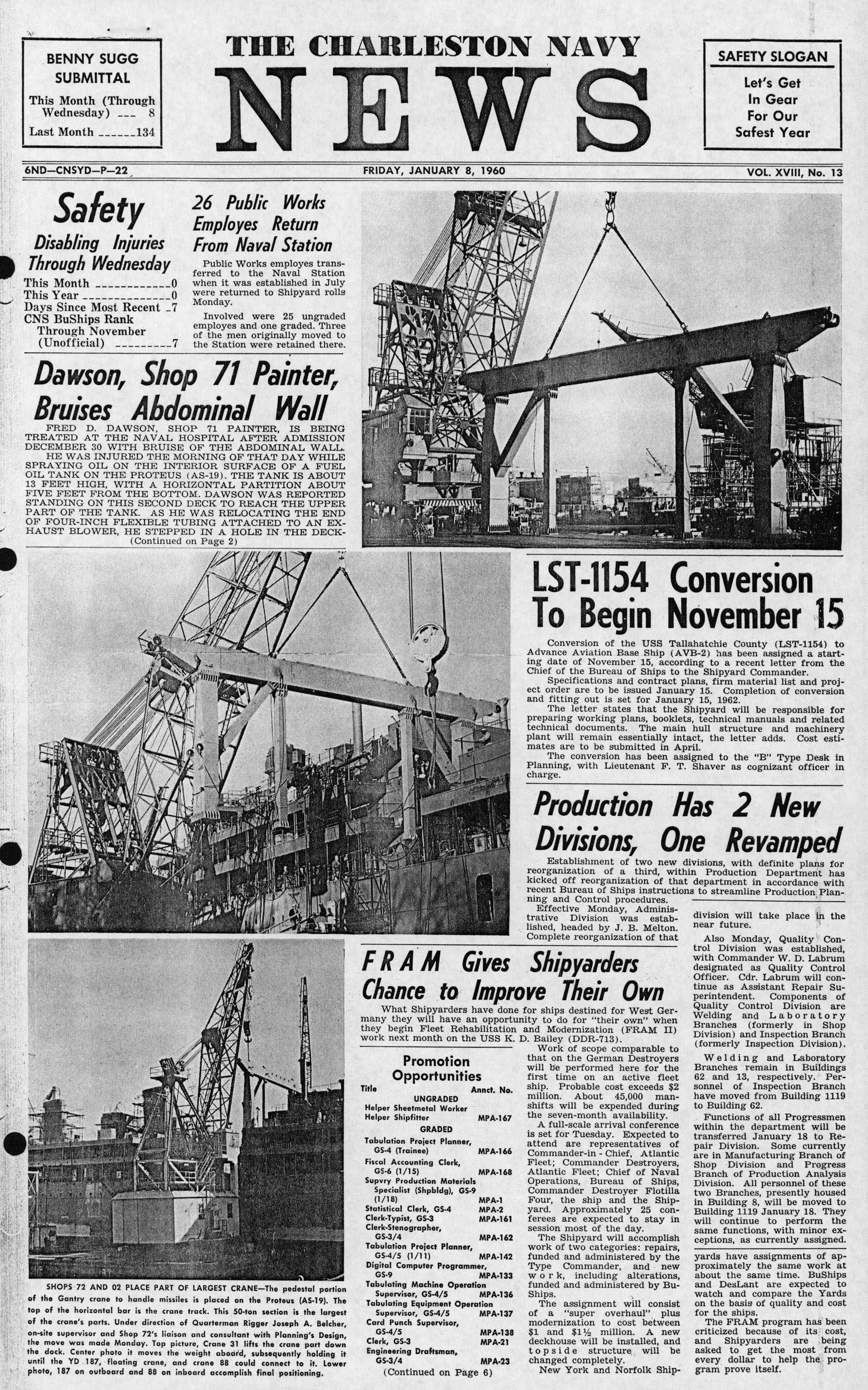 Patriots Point Shipyard Newsletters, Book 18