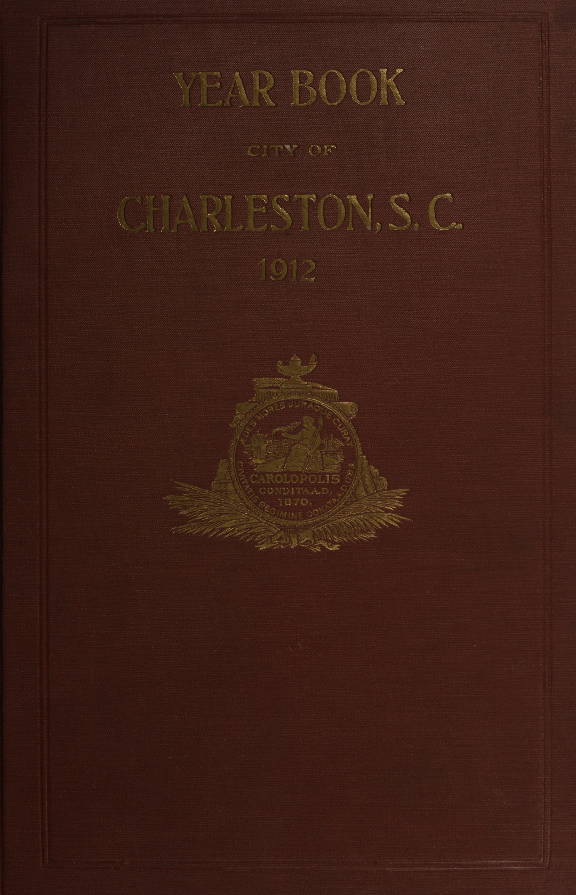 Charleston Yearbook, 1912