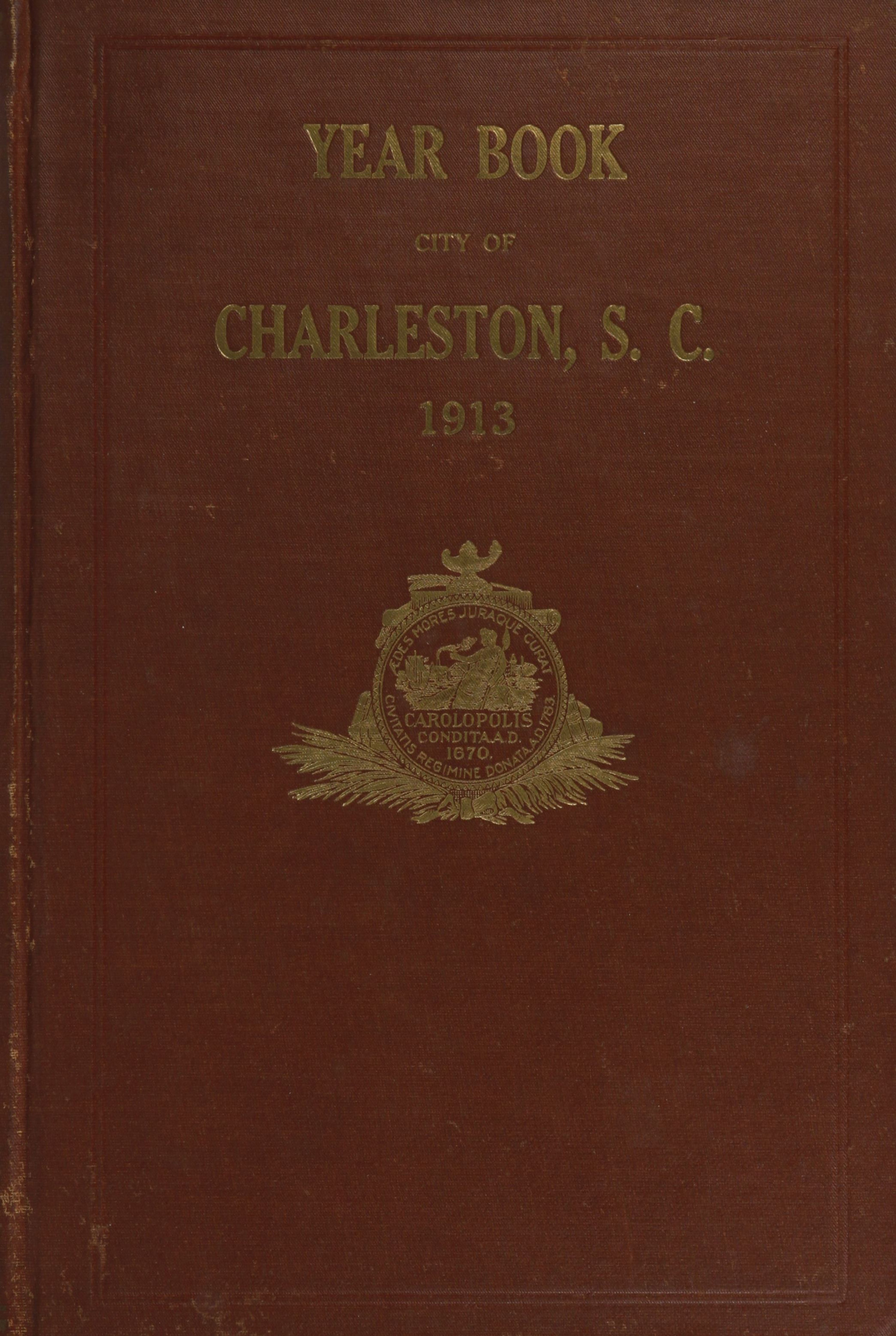 Charleston Yearbook, 1913