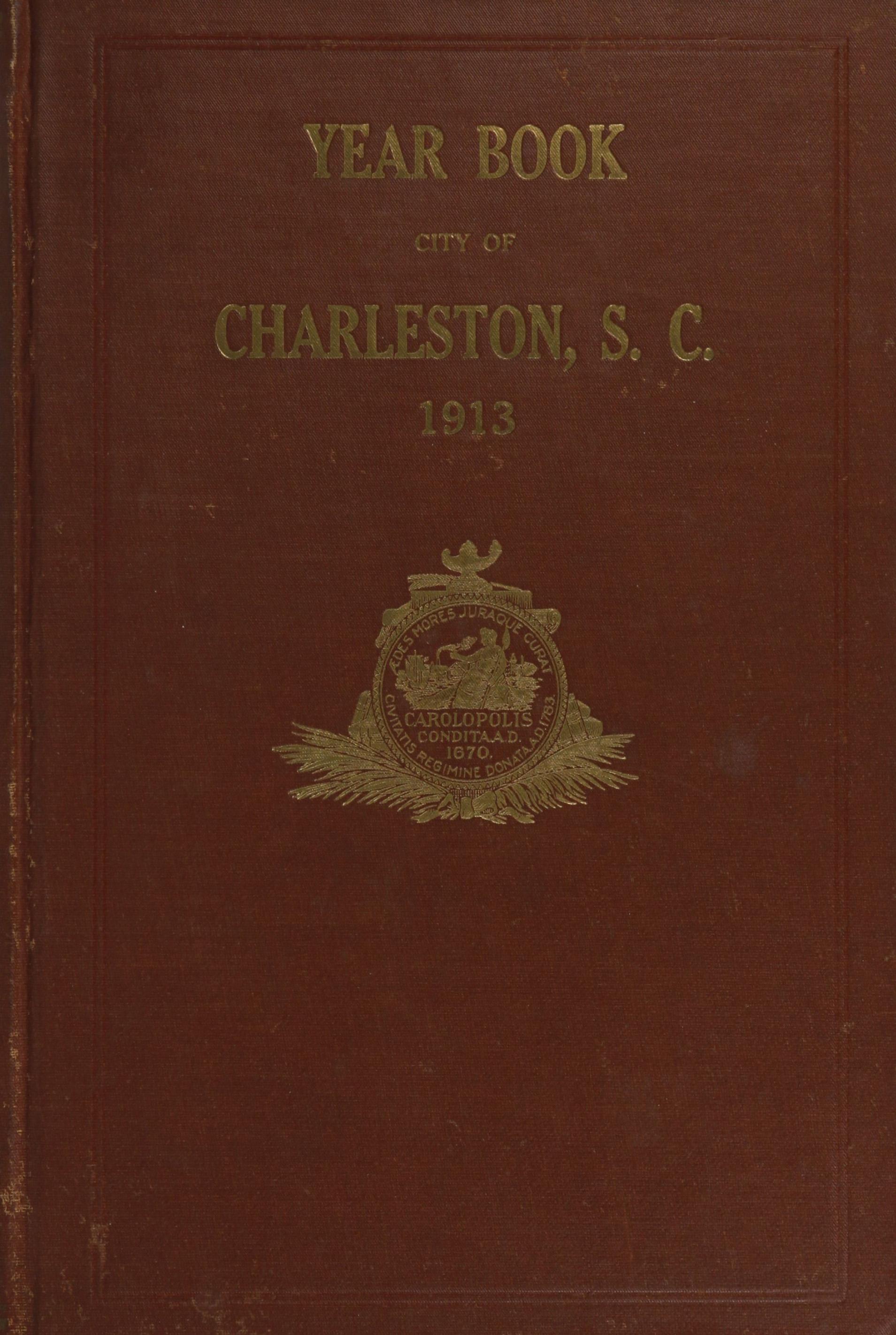 Charleston Yearbook, 1913