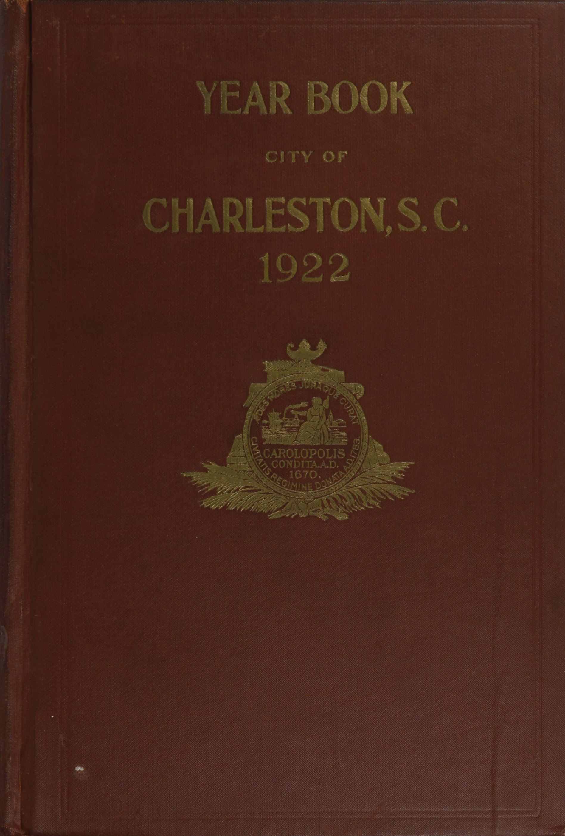 Charleston Yearbook, 1922