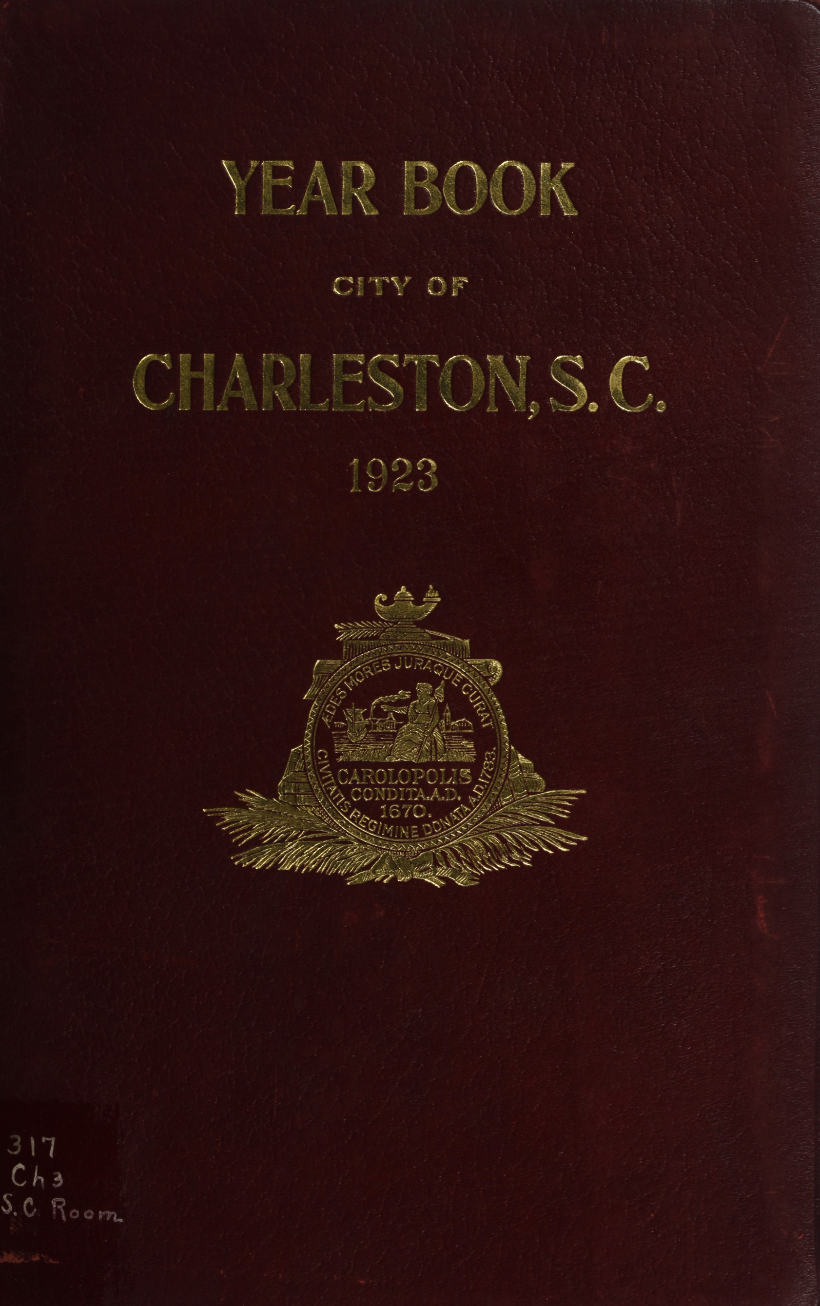 Charleston Yearbook, 1923