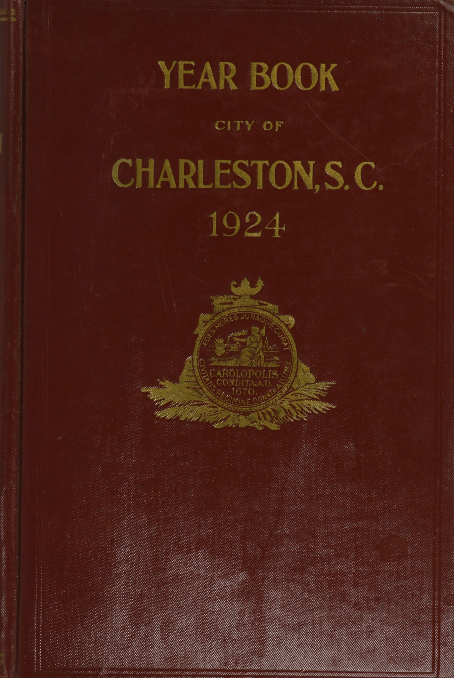 Charleston Yearbook, 1924