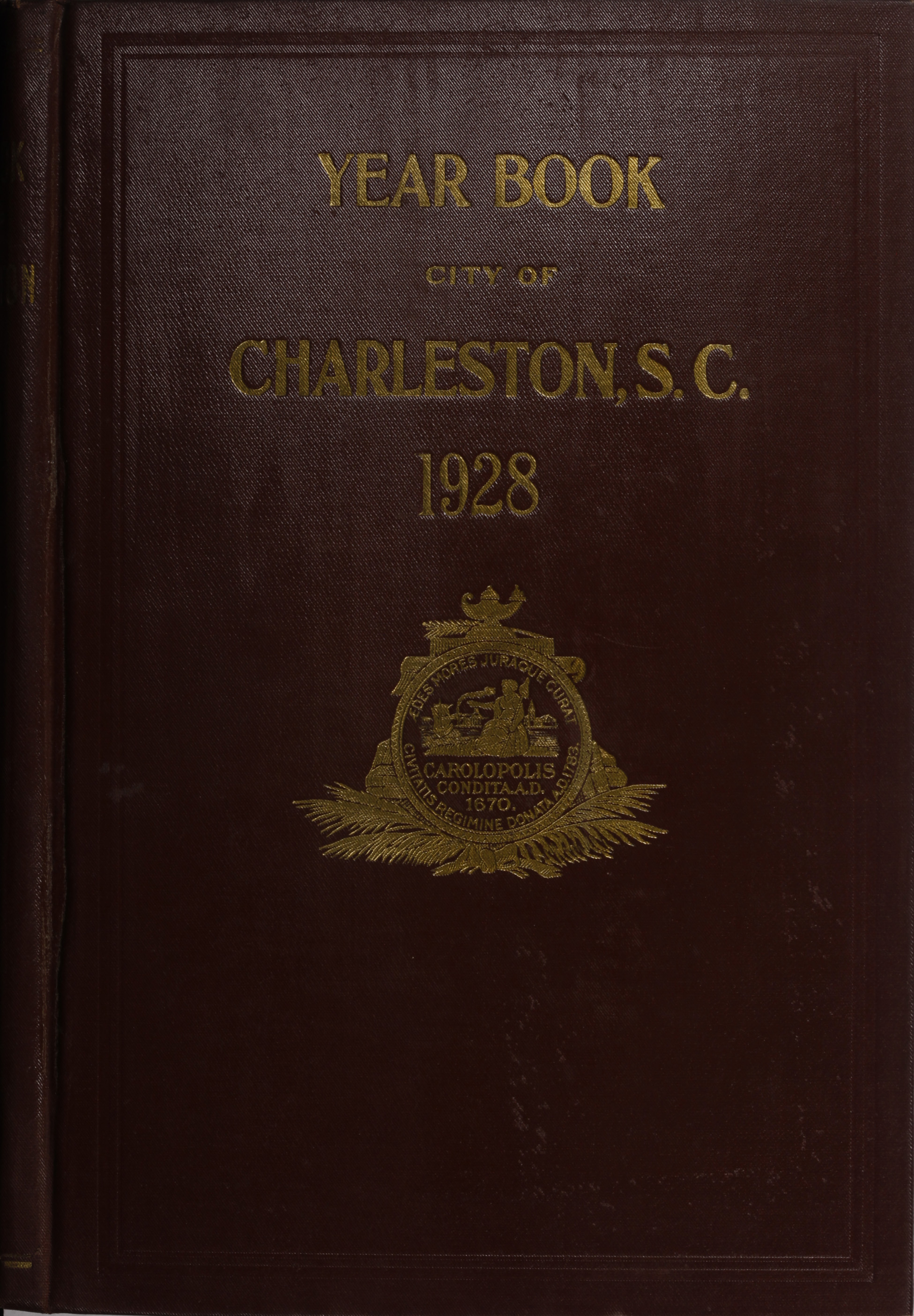 Charleston Yearbook, 1928