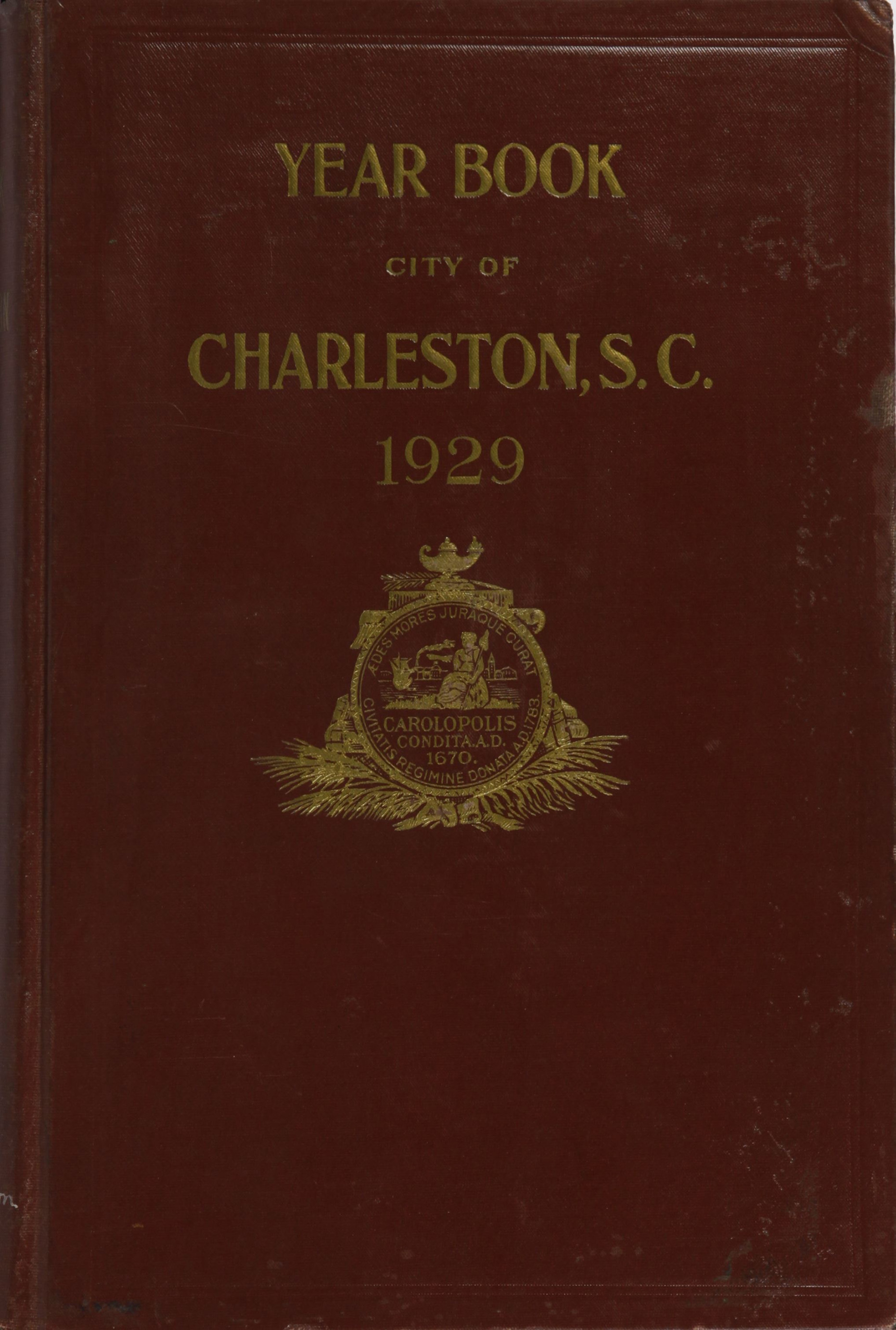 Charleston Yearbook, 1929
