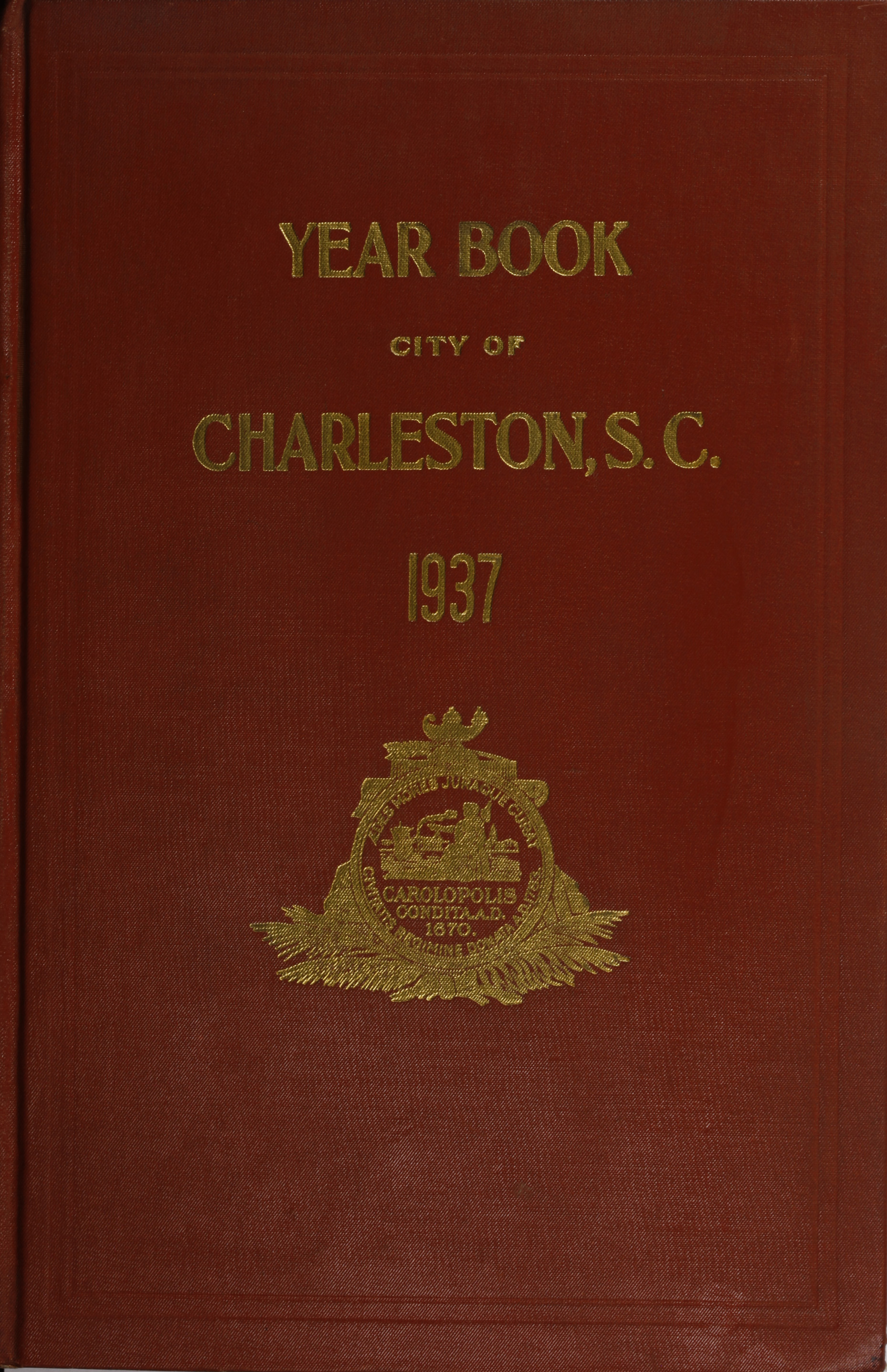 Charleston Yearbook, 1937