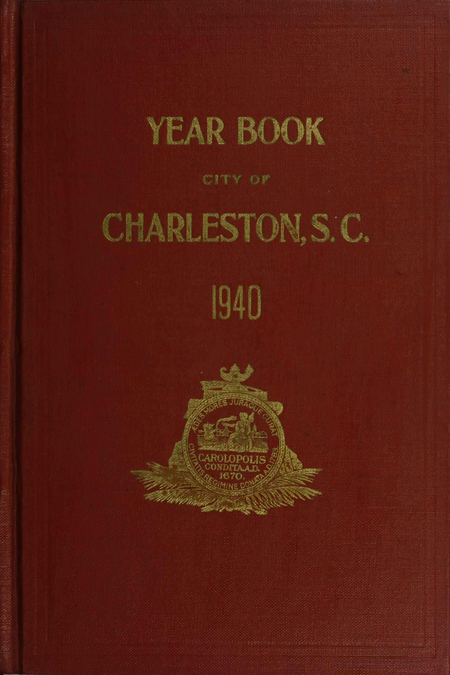 Charleston Yearbook, 1940
