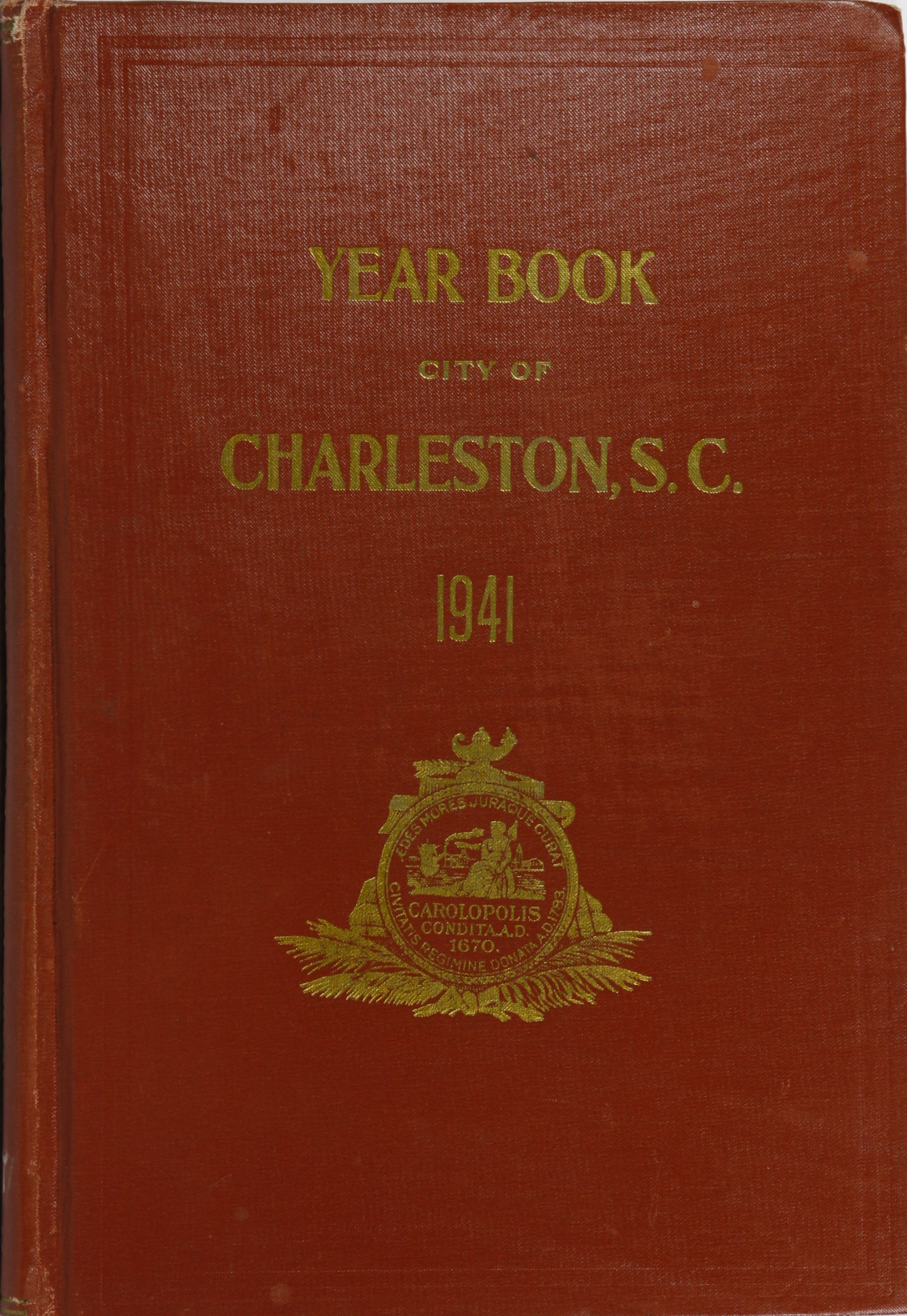 Charleston Yearbook, 1941