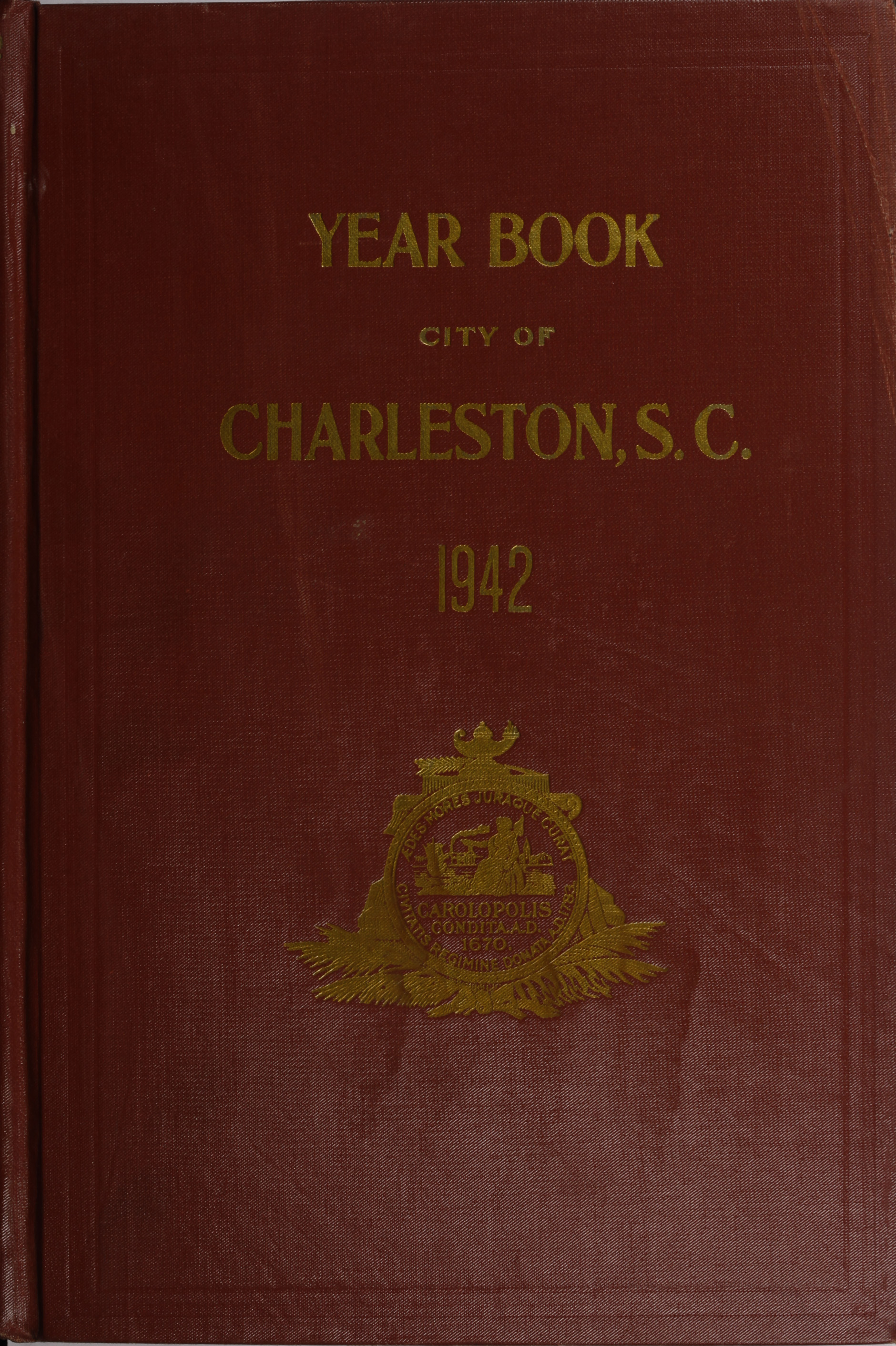 Charleston Yearbook, 1942