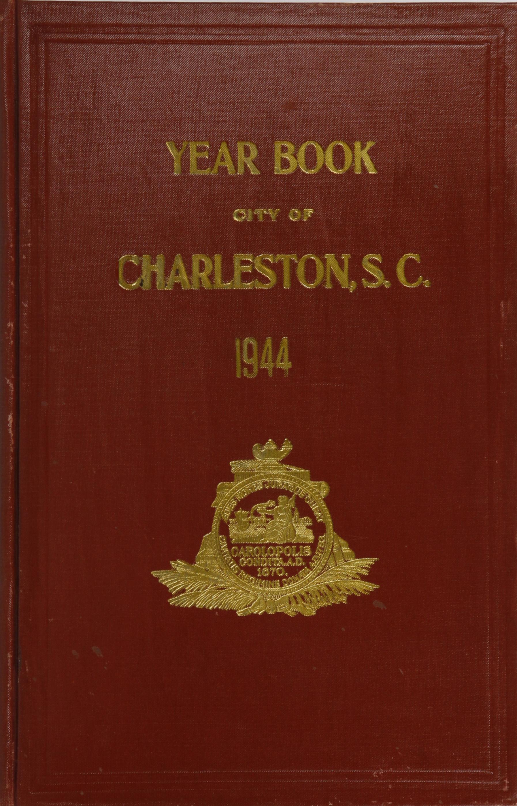 Charleston Yearbook, 1944